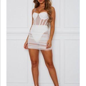 White Fox Boutique Model Behavior Mini Dress